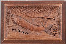 Tarpon Relief Carving