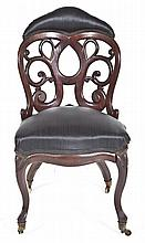 Rococo Revival Chair Attrib to John Henry Belter