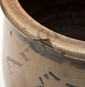 James Hamilton Stenciled Stoneware Crock