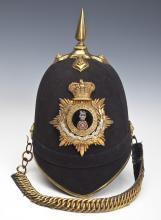 Home Service Helmet of Col. Hugh F. Coleridge