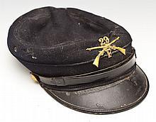 Indian War Era US Army Infantry Kepi