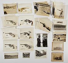 Group of Handgun Training & Military Photos