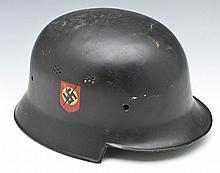 WWII Era German NSFK Double Decal Helmet