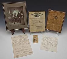 A Group of Civil War Era Documents & Photos