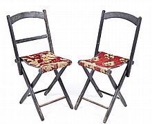 A Pair of 19th Century Camp Chairs