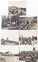 Seven 19th Century Reprinted US Army Photos