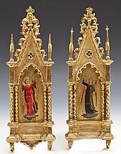 Pair 19th C Grand Tour Angels after Fra Angelico