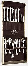 34 Pc Towle Old Master Sterling Flatware