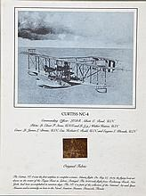 Air & Space Museum Curtiss NC-4 Print and Fabric