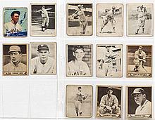 13 Vintage Playball & Goudey Baseball Cards