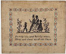 Family Life and Family Ways Sampler
