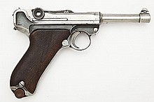 Unmarked German Luger Pistol - 9mm Cal.