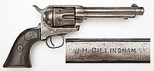 Sheriff Dillingham Marked Colt SA Army & Ensemble
