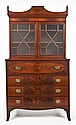 Federal Mahogany Butler's Desk Secretary