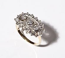 1.32 CTW Diamond Cocktail Ring