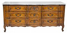 French Marble Topped Dresser