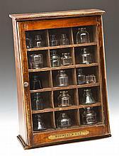 Baribeau & Fils Ink Advertising Display Cabinet