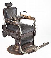 Victorian Barber Chair August Kern