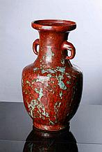 VASE WITH HANDLES