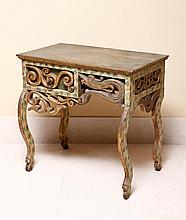 PAINTING SIDE TABLE