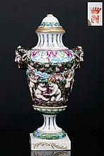 AMPHORA WITH A LID