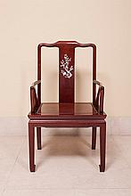 CHINESE ARMS CHAIR