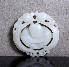 PLAQUE IN CHINESE JADE