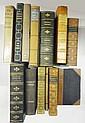 Various fine bindings, and three Folio Society