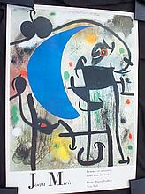 MIRO,   JOAN(AFTER)  ( Spanish 1893-1983  )Poster for the Pierre Matisse Gallery, exhibition