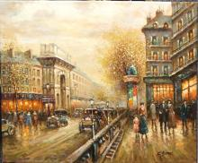 From The School Of  Antoine Blanchard  C Boyer   ( French 20th C.)
