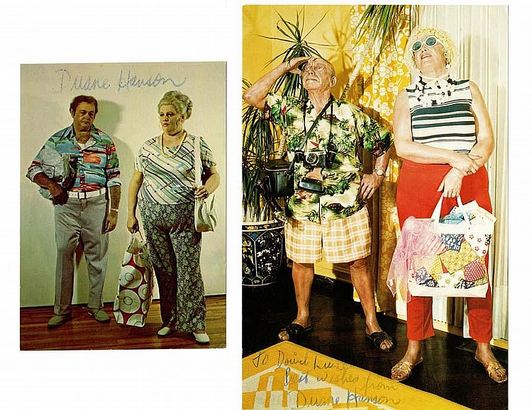 A COLLECTION OF PHOTO REALISTS GALLERY ANNOUNCEMENTS AND POSTCARDS,(American 1928-2007)