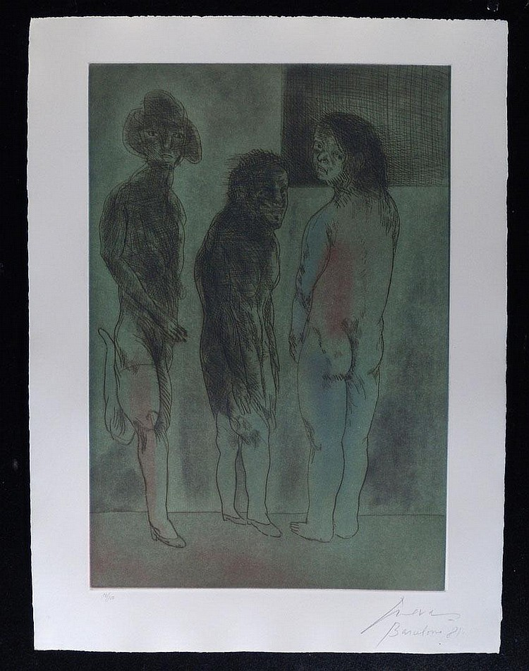CUEVAS,     JOSE LUIS,(Mexican b. 1934)