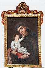 ARTIST UNKNOWN  (  19th-20th C.  )(Priest with Child)