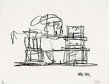 FRANK  GEHRY  ( Canadian-American b. 1929  )