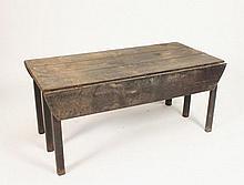 A George III mahogany wake table
