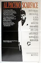 Original Vintage Poster Scarface Al Pacino