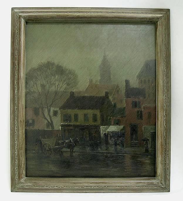 ALEXANDER THEOBALD VAN LAER (American, 1857-1920)