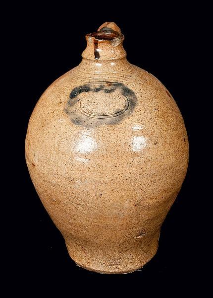 Diminutive C. CROLIUS / MANHATTAN Stoneware Jug
