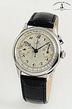 Omega, Swiss, Movement No. 9382429, Case No. 9016805, Cal. 33.3 CHRO, 37 mm, circa 1944