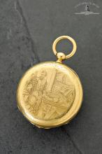 Henri Perregaux, Locle, Case No. 14282, 45 mm, 64 g, circa 1860