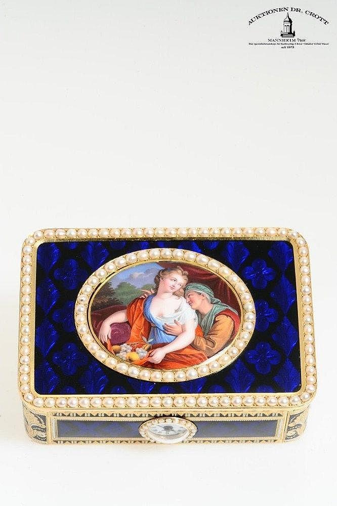 (*) Frères Rochat / Georges Rémond & Compagnie à Genève, 85 x 60 x 28 mm, circa 1815