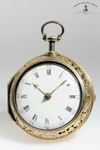 John Ellicot, London, Movement No. 5009, Case No. 6041, 50 mm, 130 g, circa 1768