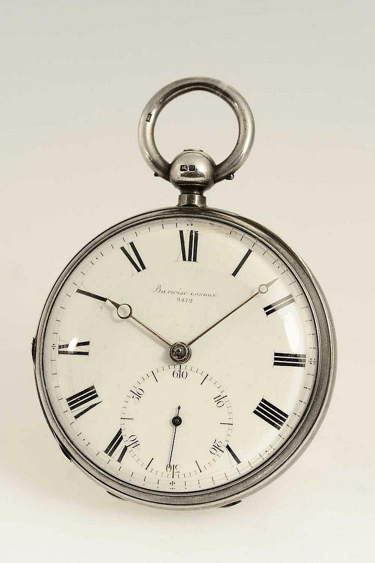 John Barwise, London, Movement No. 9472, Case No. 9472, 53 mm, 114 g, circa 1889