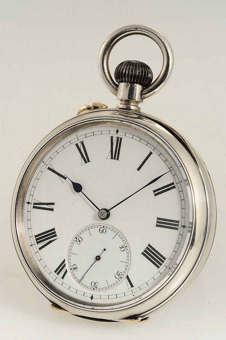 August Ericsson, St. Petersburg / Ulysse Nardin, Le Locle, Case No. 380, 54 mm, 142 g, circa 1910