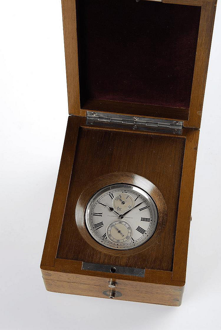 Ulysse Nardin, Locle Suisse / F.L. Löbner, Berlin, W., Movement No. 24901, Case No. 360353, 59 mm, 196 g, circa 1950