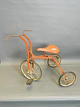 A vintage Triang child's tricycle