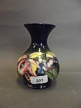 A William Moorcroft Art Pottery vase, signed, 6¼
