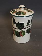 A Wemyss-Griselda Hill pottery jar and cover with