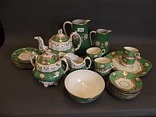 An early Victorian part tea service, 8