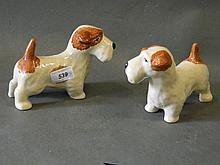 A pair of Govancraft porcelain figures of